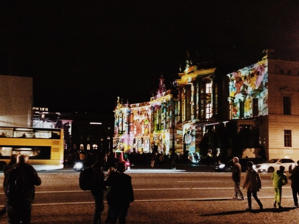 Humboldt University, Festival of Lights Berlin