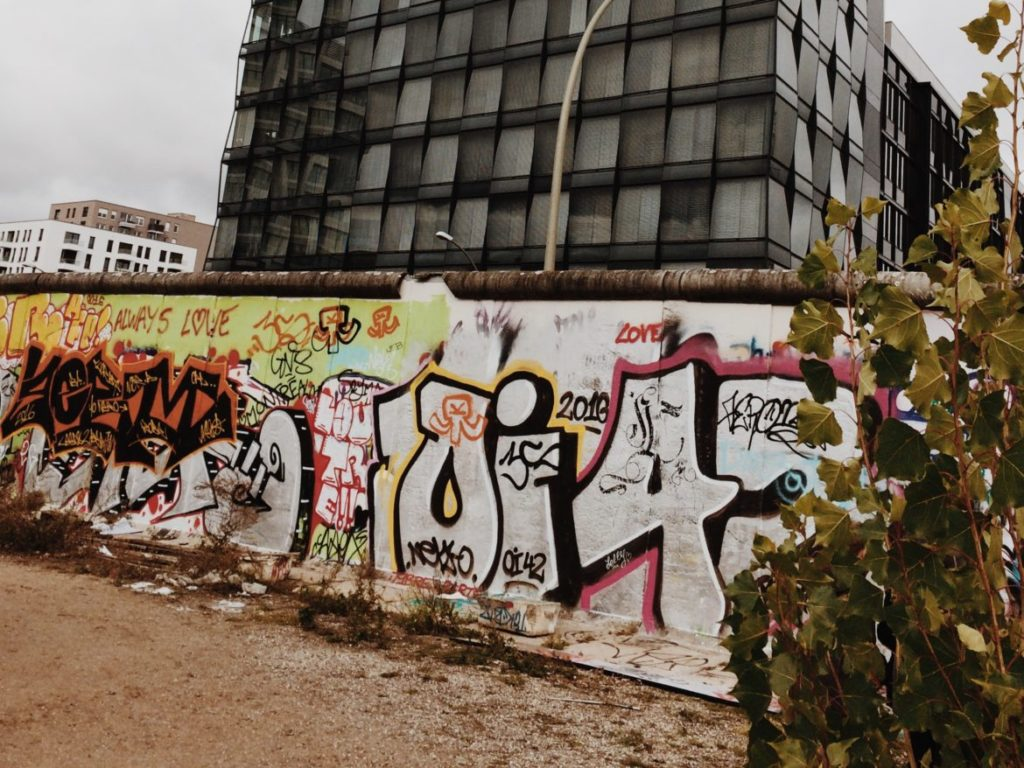 Graffiti Art on the Berlin Wall