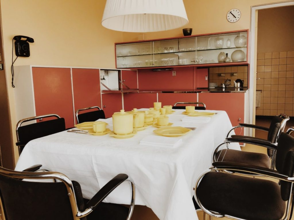 Bauhaus design dining set, Rotterdam, Netherlands