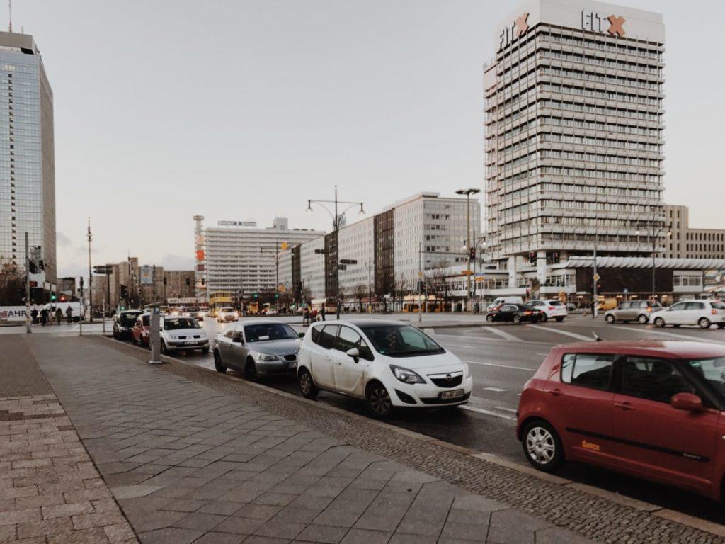 Haus des Reisens, Alexanderstrasse, Alexanderplatz, Mitte, Berlin