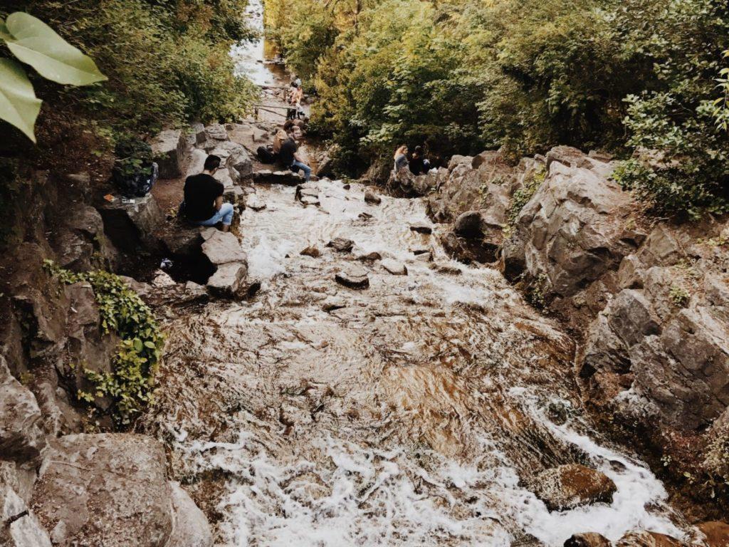 A little waterfall in the heart of Berlin