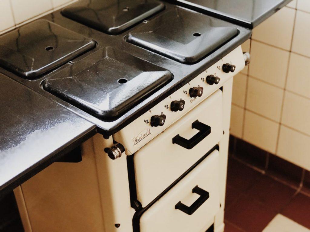 Bauhaus cooker, Historic kitchen designs, Rotterdam, Netherlands