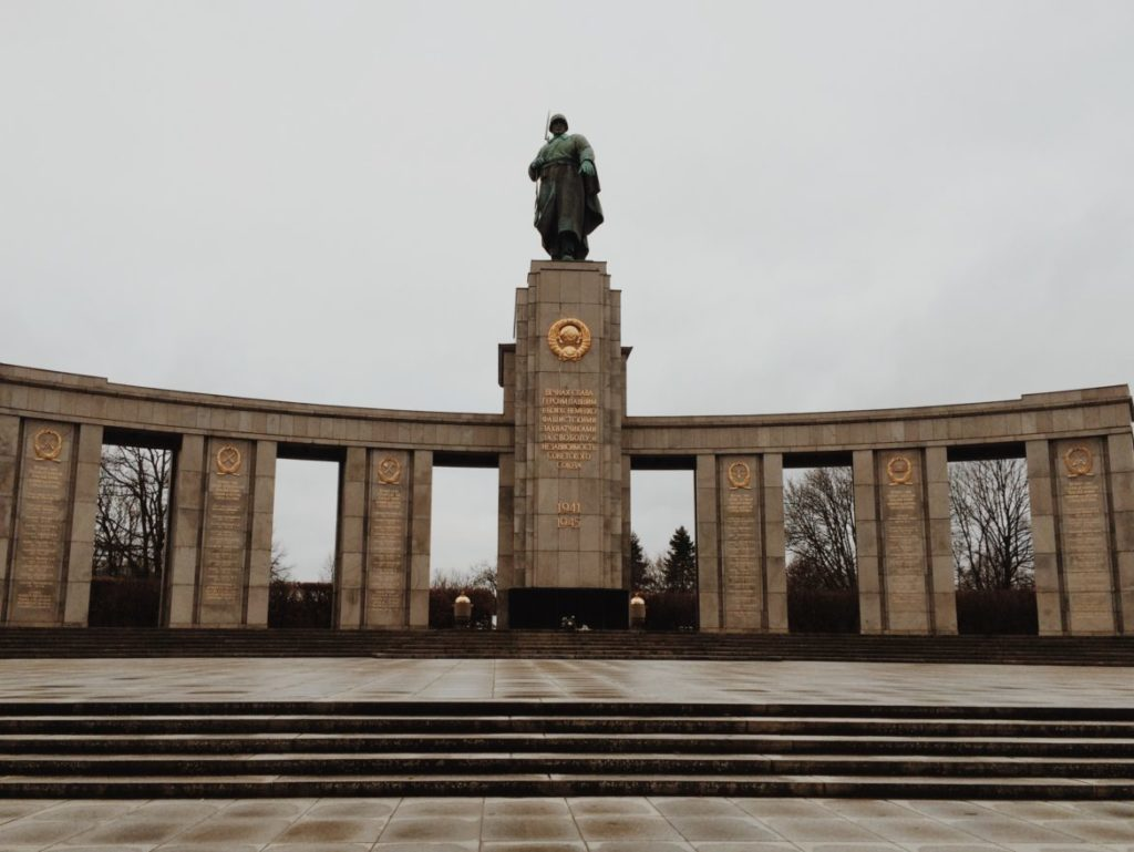 Soviet War Memorial in Tiergarten, Berlin