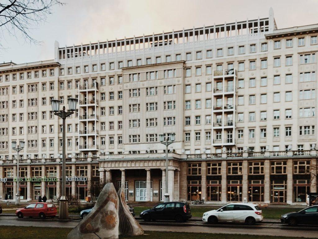 Karl-Marx-Allee Block C Nord Berlin