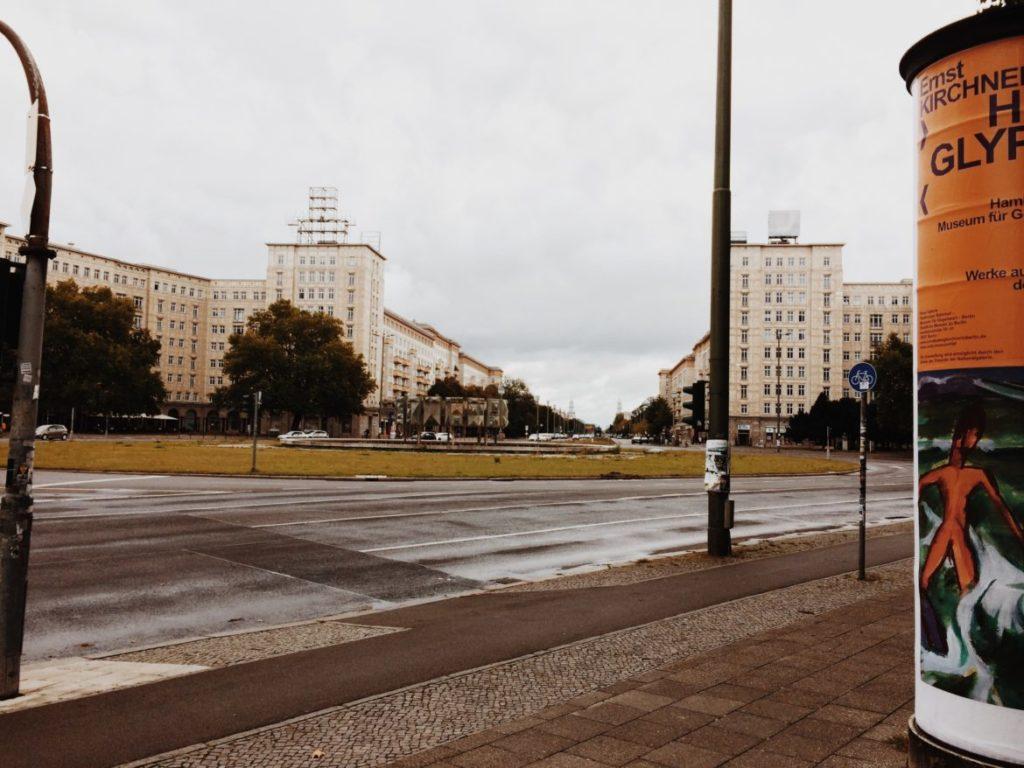 Buldings in Karl-Marx-Allee, Strausberger Platz, Berlin