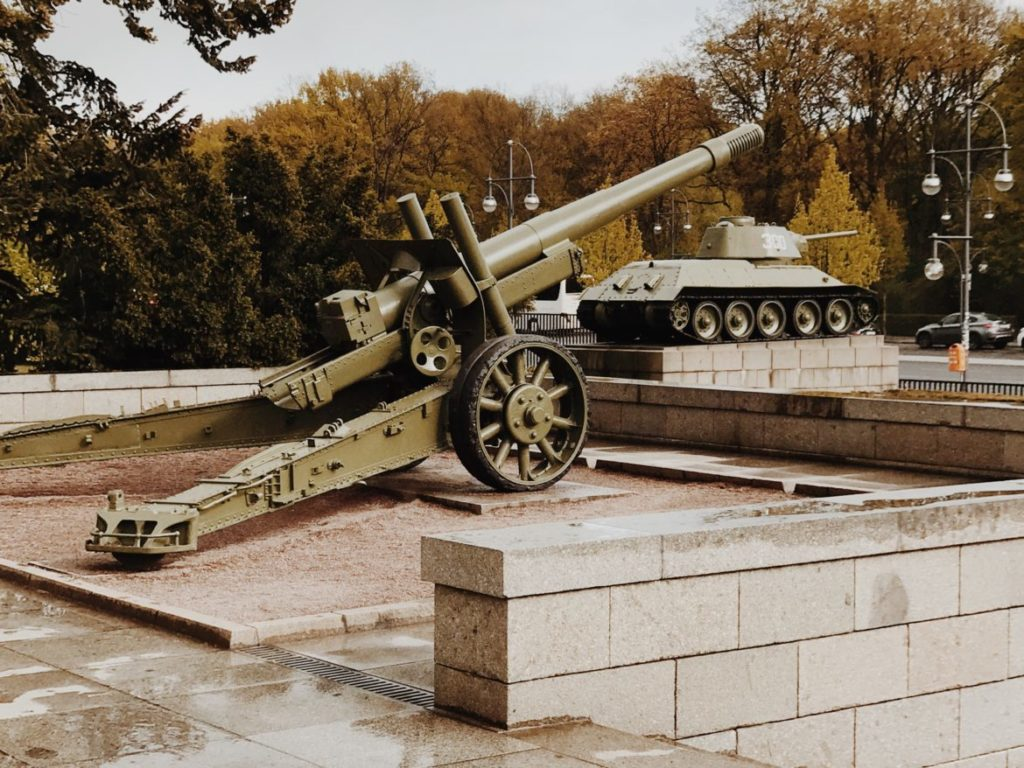 Top ML Howitzer - A howitzer monument dedicated to a World War 2