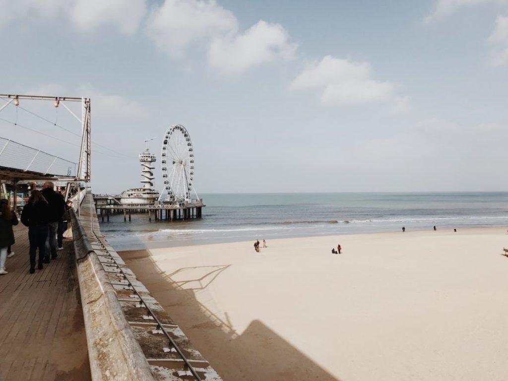 De Pier Scheveningen, renovated seaside pier, The Hague, Nederlandsferris wheel, restaurants,