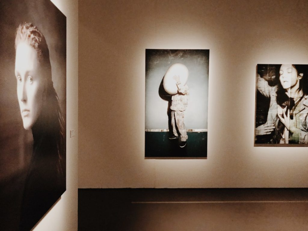 Installation view of New Photography