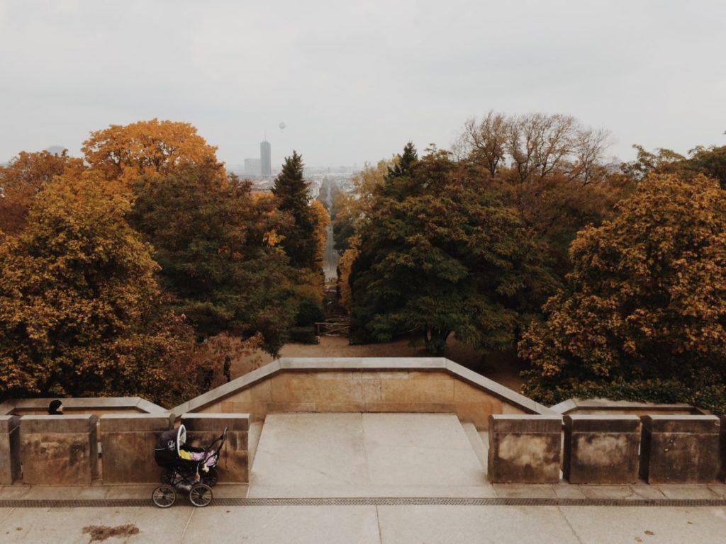 Views of the city from Viktoriapark in Kreuzberg