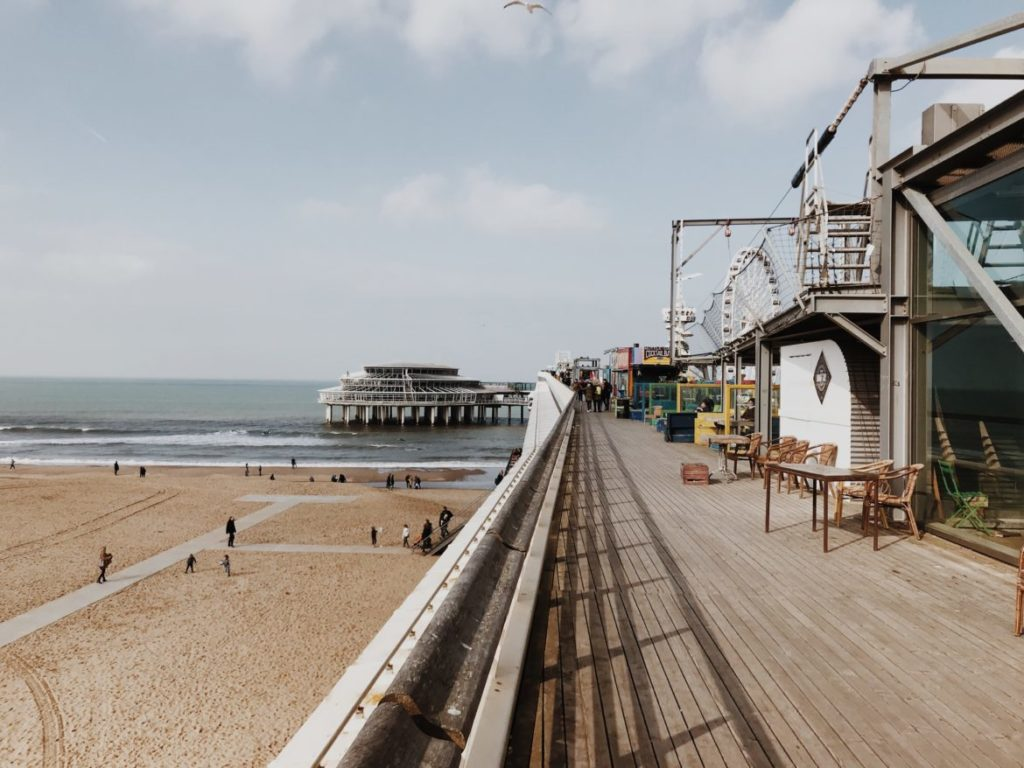 De Pier Scheveningen, renovated seaside pier, The Hague, Nederlandsferris wheel, restaurants,