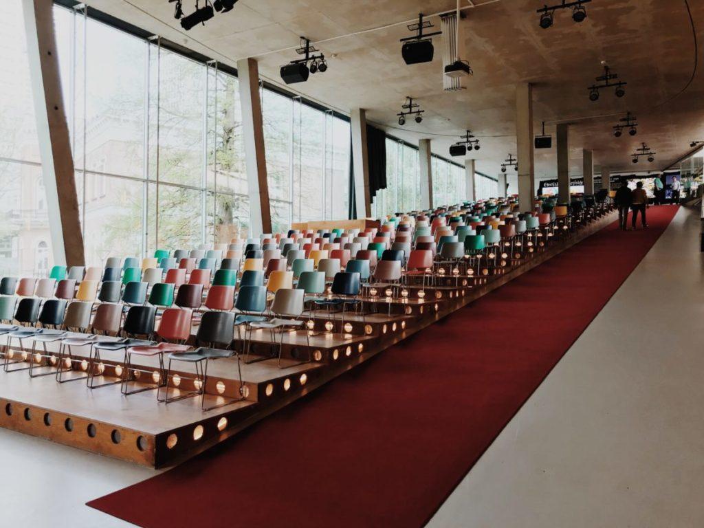 Kunsthal Rotterdam auditorium, Netherlands