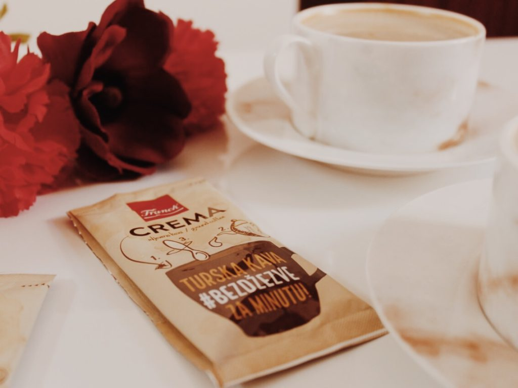 Franck Crema coffee Stick2GO, Instant Turkish coffee