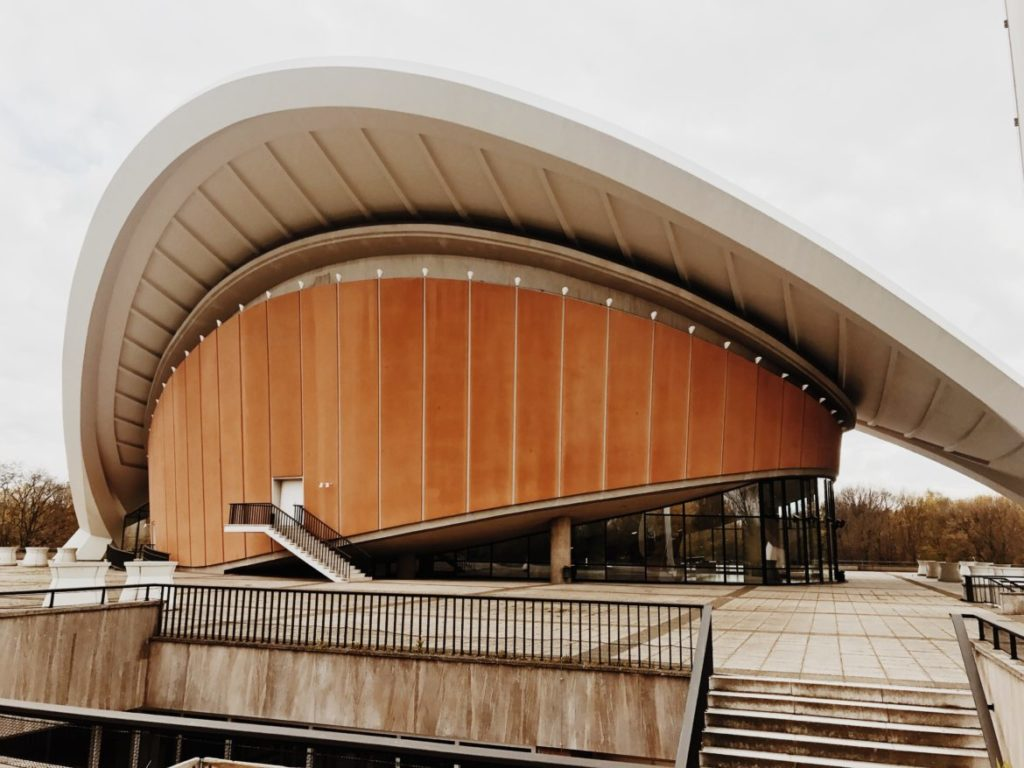 The Haus der Kulturen der Welt (House of the World's Cultures) in Berlin, Germany