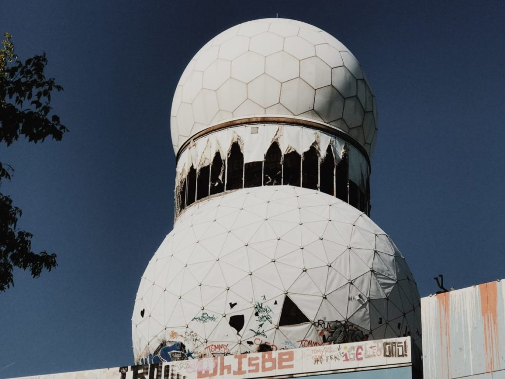 Field Station Berlin Teufelsberg: NSA spy station on buried Nazi college