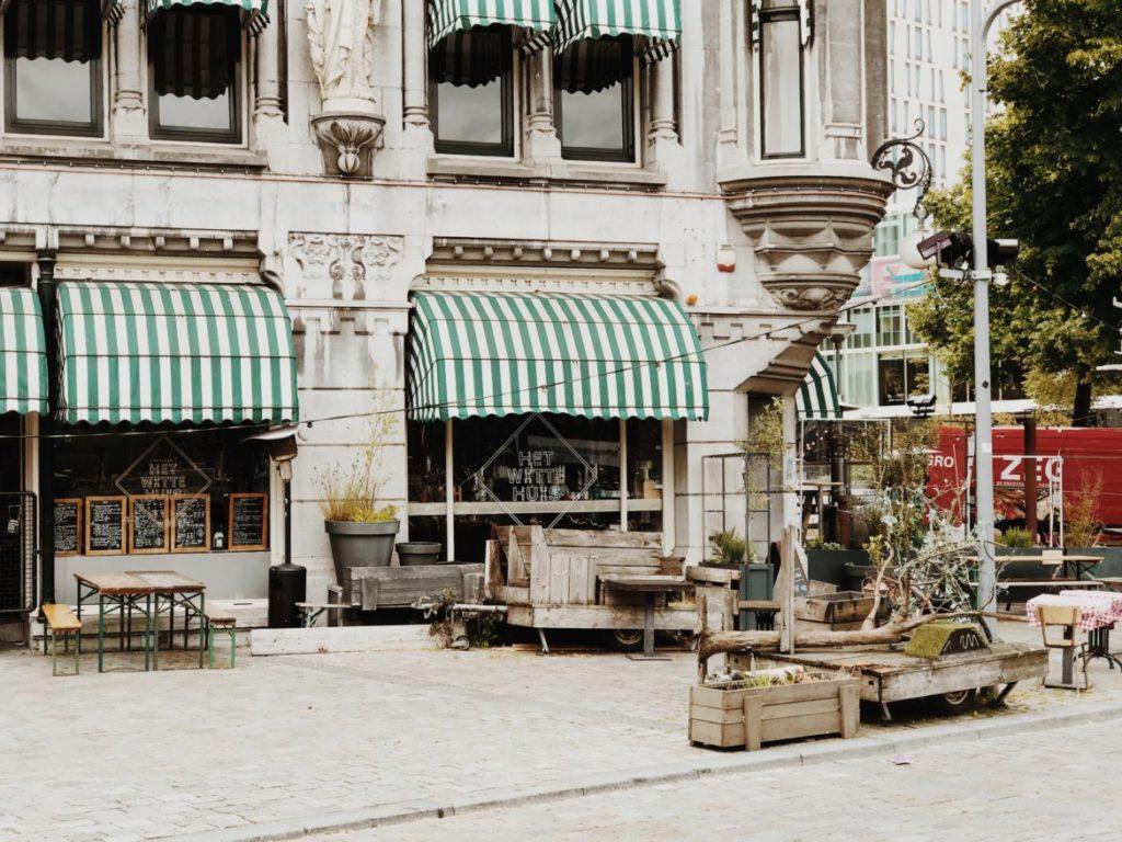 Het Witte Huis coffee shop, Rotterdam, Netherlands