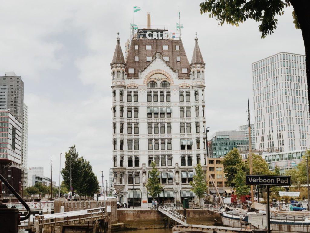Het Witte Huis Rotterdam, Art Nouveau, arch. Willem Molenbroek