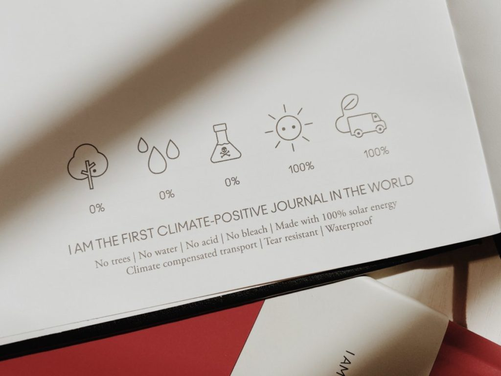 I am the first climate-positive journal in the world
