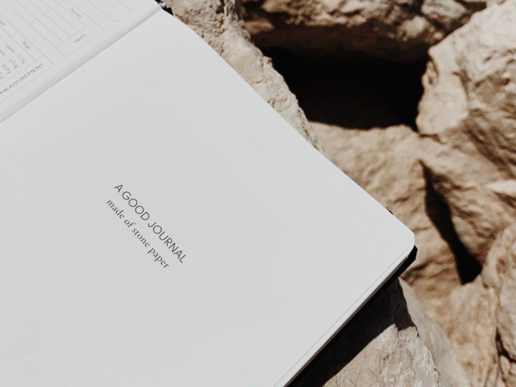 A Good Company stone paper