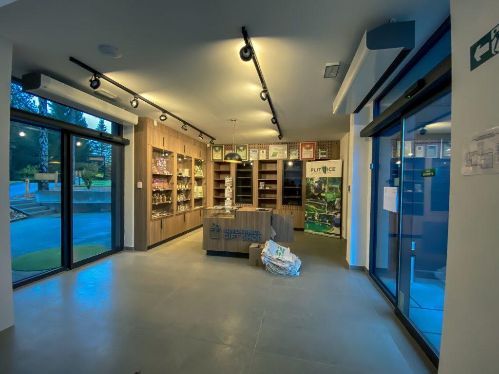 Suvenirnica - Gift Shop at Plitvice National Park
