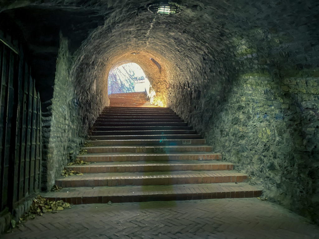 Petrovaradin entrance tunnel, Serbia