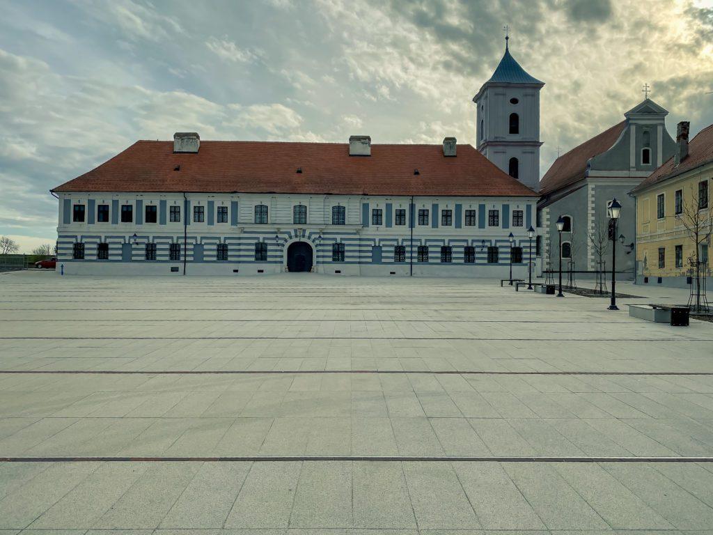 Building of Franciscan monastery in Osijek, Croatia