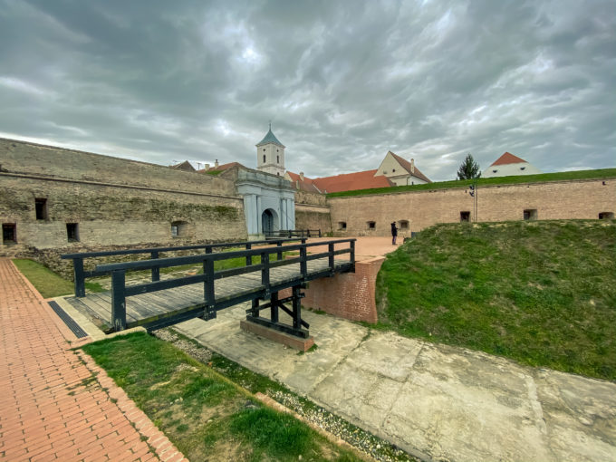 Tvrđa Osijek, the historic architecture with amazing Water Gate