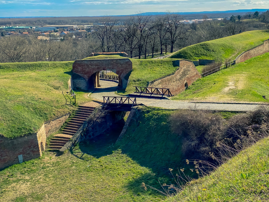 Petrovaradin Fortress Fortifications