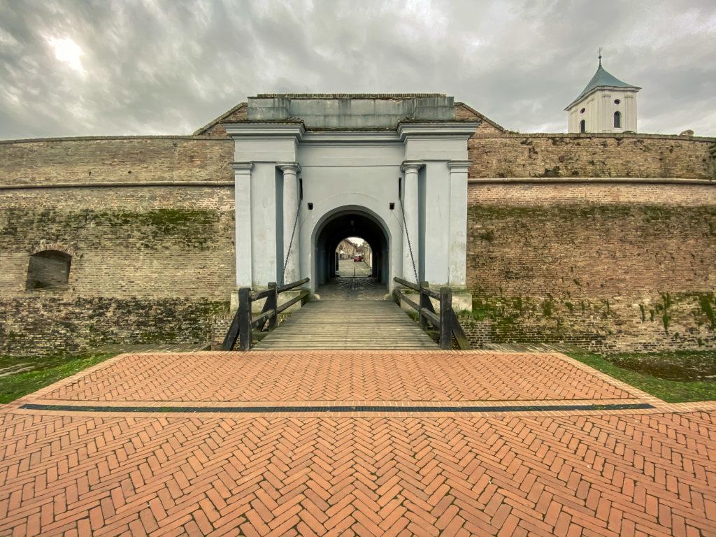 Water Gates, Tvrđa Osijek, Croatia