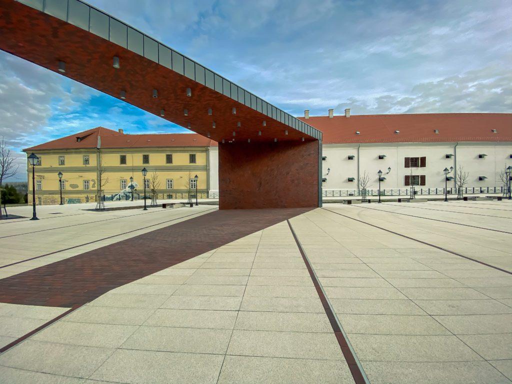 Vatroslav Lisinski Square, Osijek, Croatia