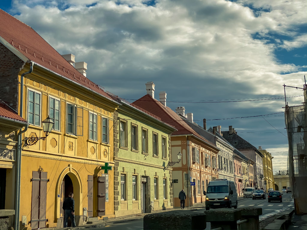 Street In Old Part Of Petrovaradin City, Serbia