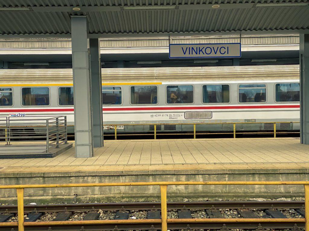 Vinkovci railway station, Croatia