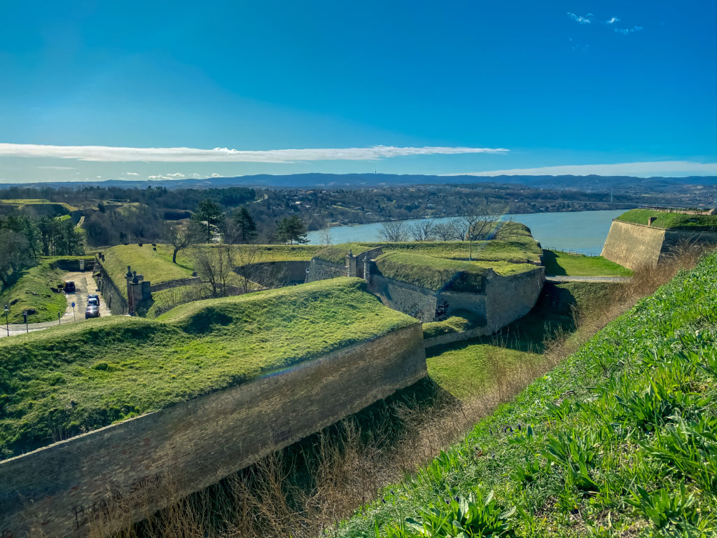Part of Petrovaradin Fortress Fortifications