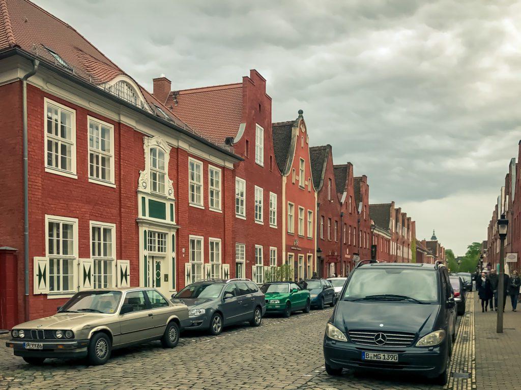 Dutch architecture in Germny by Dutchman Jan Bouman