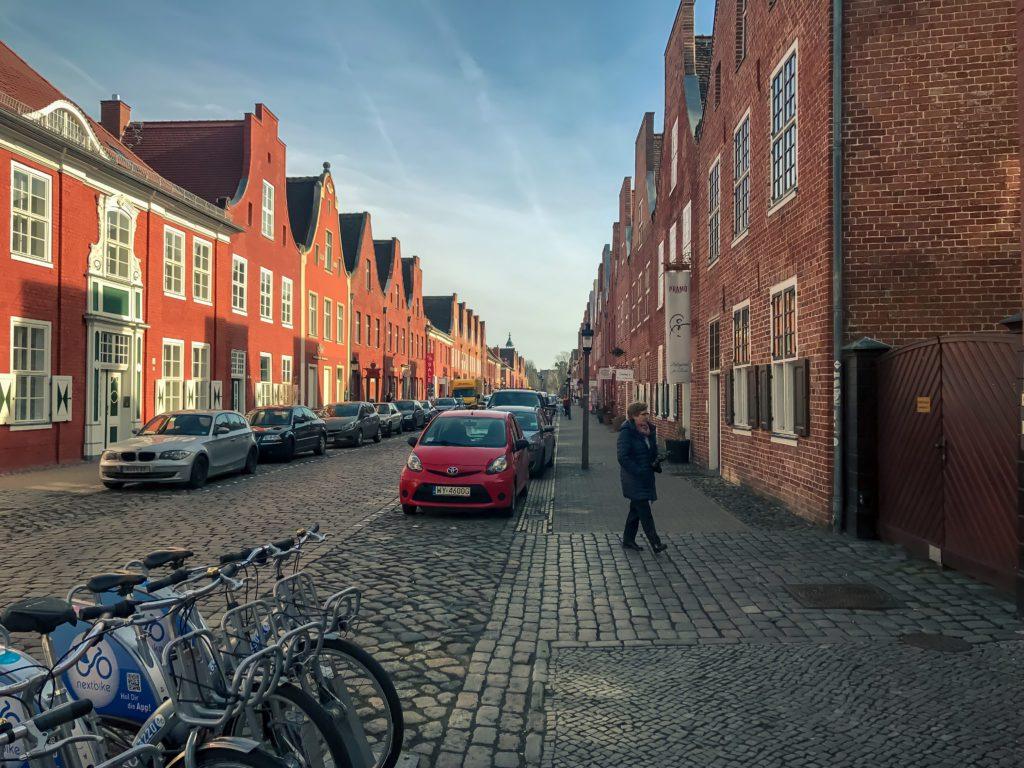 Central Street in the Dutch Quarters, Potsdam, Mittelstrasse im Holländisches Viertel