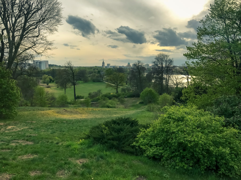A view from Babelsberg Park on Potsdam