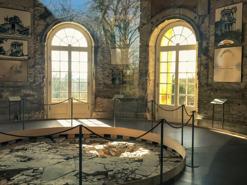 Interior of The Belvedere auf dem Klausberg, Sanssouci Park in Potsdam, Germany