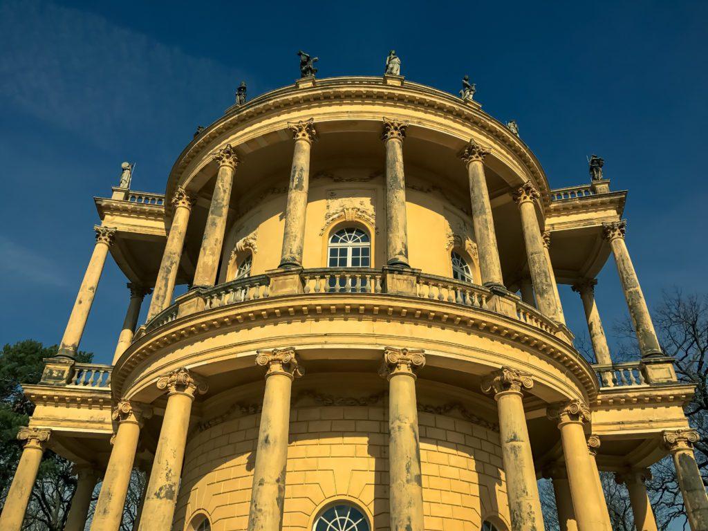 Front of The Belvedere auf dem Klausberg, Sanssouci Park in Potsdam, Germany