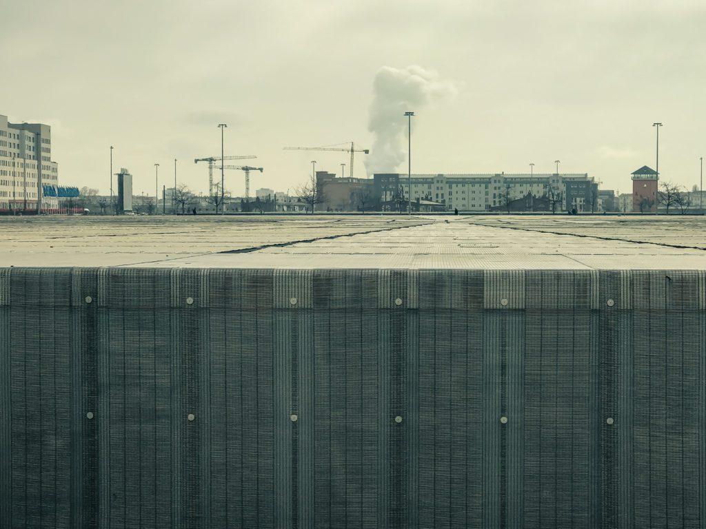 Velodrome Berlin, the entire complex is hidden below ground level, Pankow, Berlin, Germany