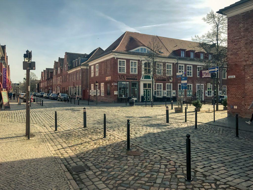 Redbrick house, brick houses, Mittelstrasse, Dutch Quarter, Potsdam, Brandenburg, Germany