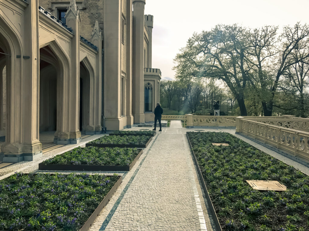 Babelsberg Palace Garden, Potsdam, Brandenburg, Germany