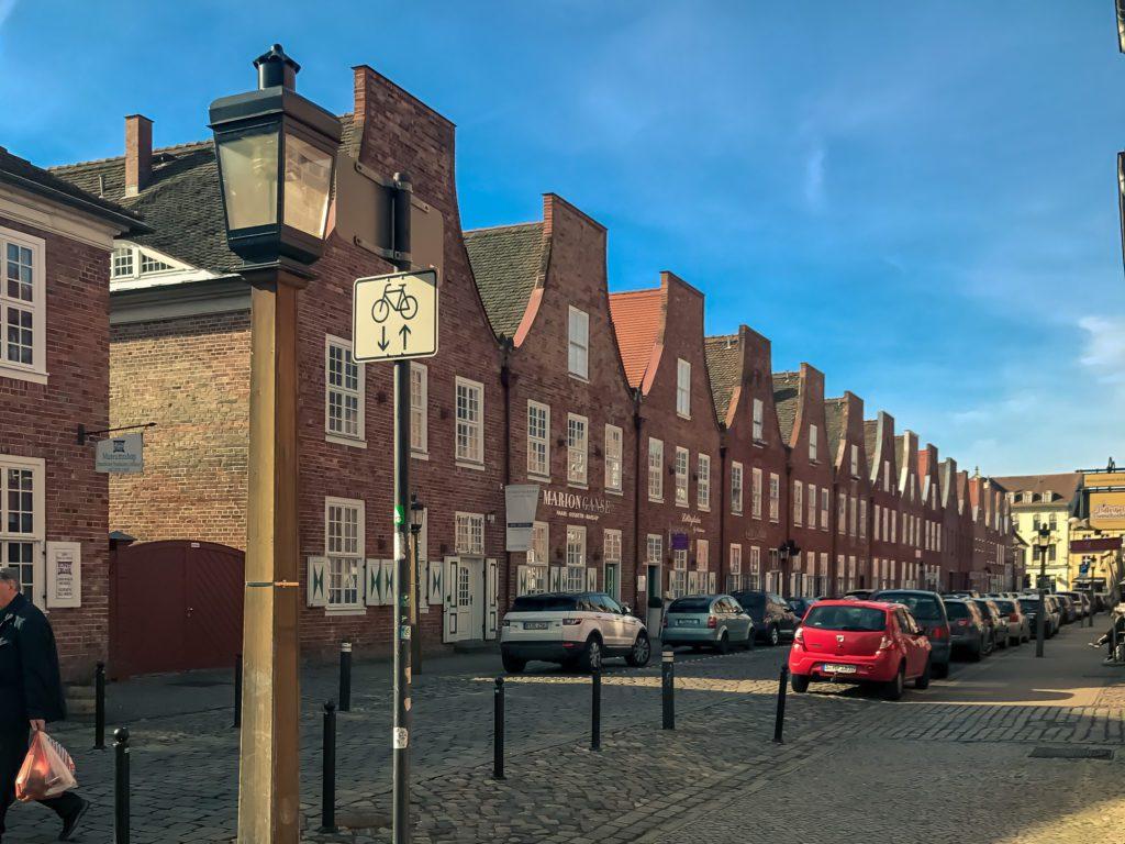 Dutch Quarter (Holländisches Viertel), Dutch architecture, Potsdam, Germany