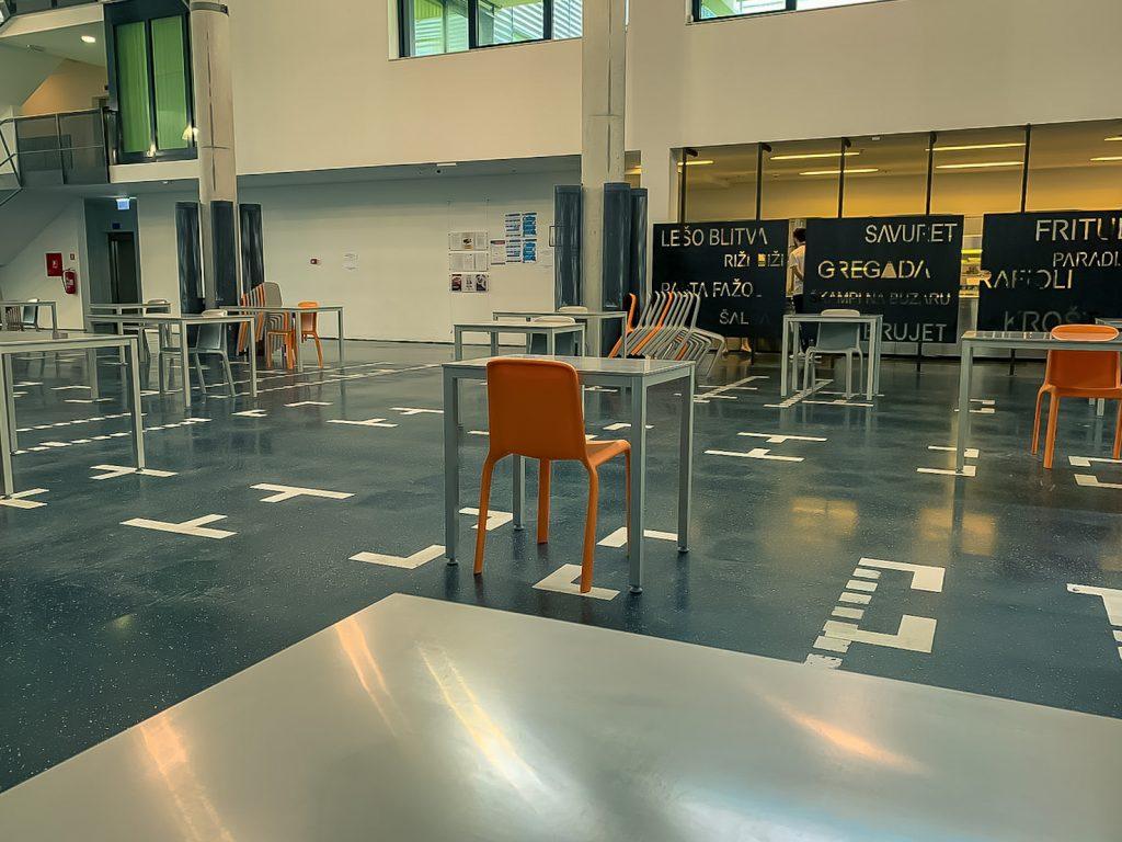 Student canteen Kampus, University of Split