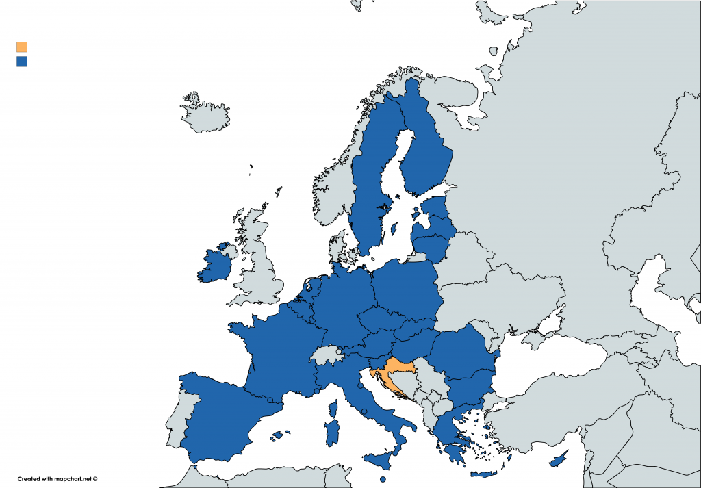 Is Croatia in the EU? The answer is YES!