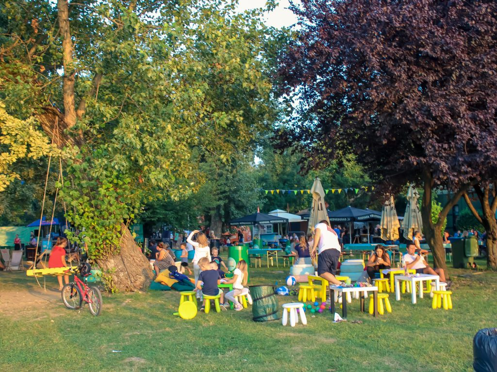 Food Truck Festival Zagreb, kids area