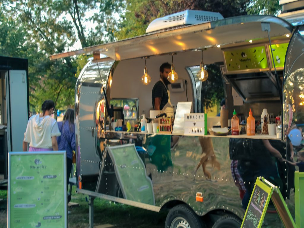 Munchy food truck - Indian and Mediterranean food and desserts, Zagreb, Croatia