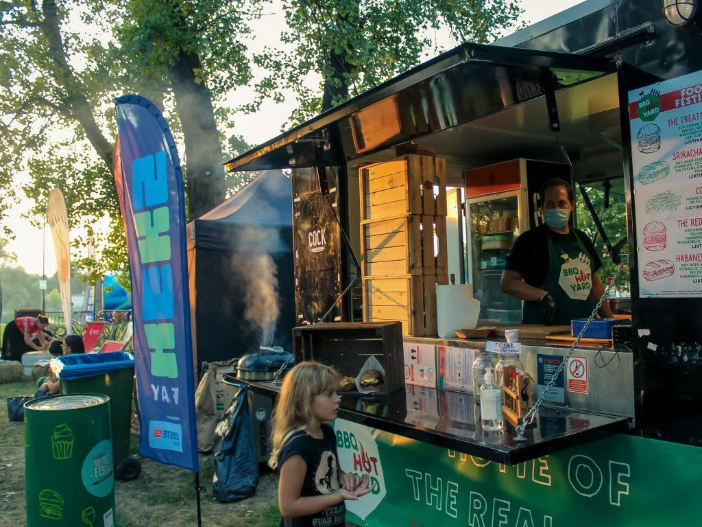 BBQ HOT YARD food truck, Zagreb, Croatia