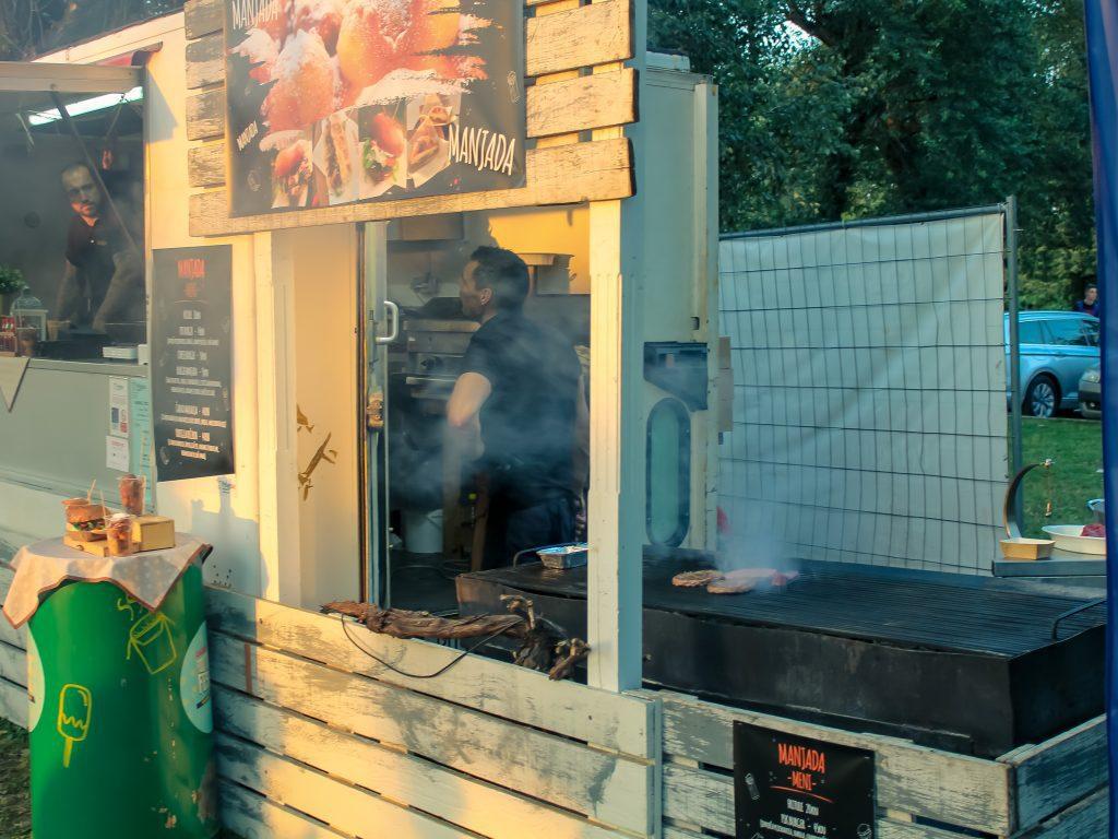 Manjada food truck, Zagreb, Croatia