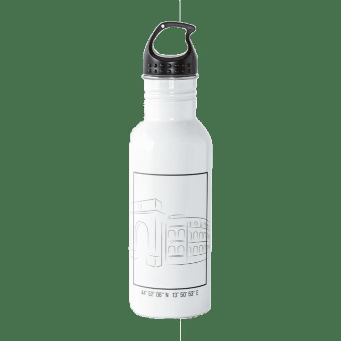 Water bottle I love Croatia